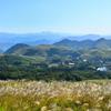 平尾台2020 10月-2 太平山 ススキと山並