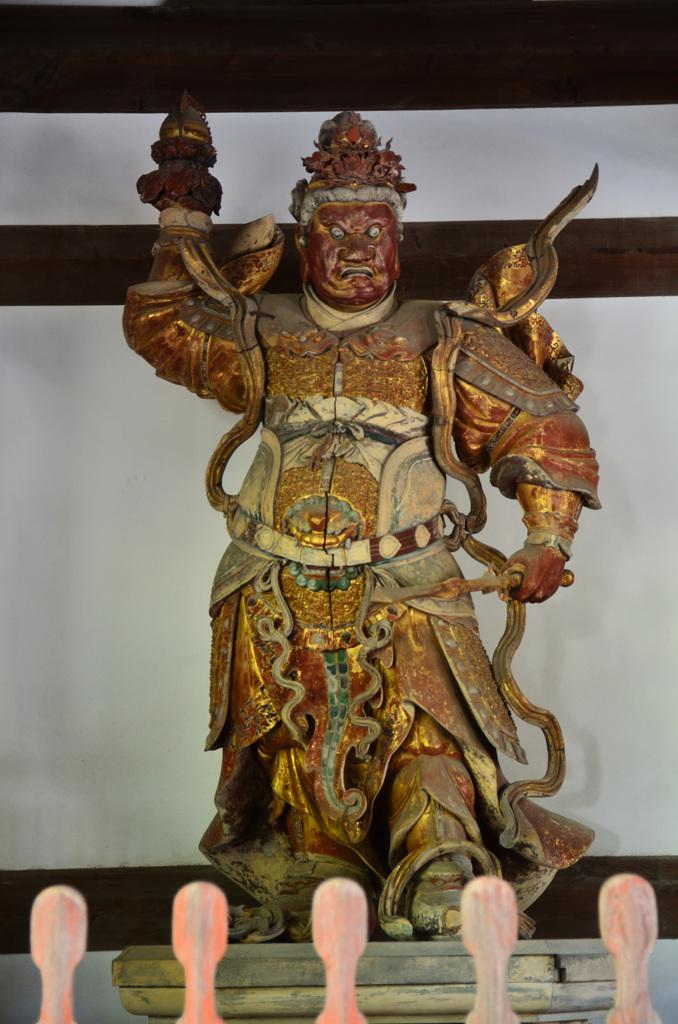 萬福寺2018 四天王3