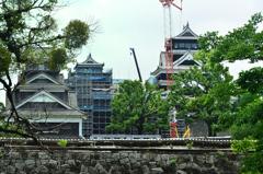 熊本城2020 7月-1 二の丸広場ビュースポット