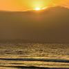 岩屋海岸2021 3月-2 夕陽
