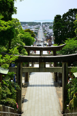 宮地嶽神社2020 光の道特等席
