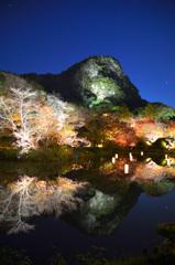御船山楽園2019-5 秋 御船山&茶屋ライトアップ