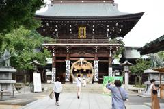 宮地嶽神社2020 8月-1 楼門①