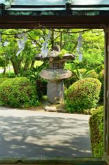 宮地嶽神社2020 石灯籠