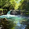 菊池渓谷2020 10月-2 黎明の滝①