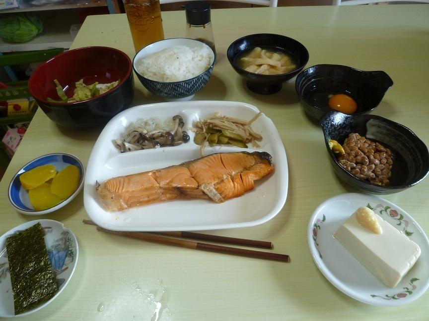 鮭定食 20210114