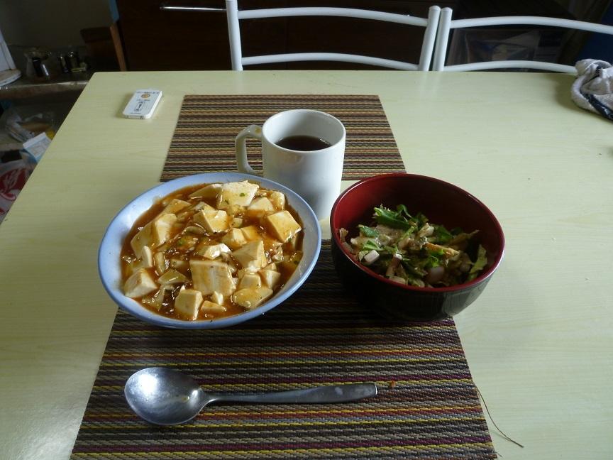マーボー丼 20200507 (2)