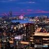 梅田スカイビル空中庭園からの夜景03