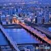 梅田スカイビル空中庭園からの夜景02
