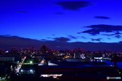 なみはや大橋からの大阪市内03