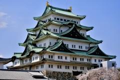 春の名古屋城