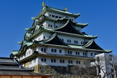 冬の名古屋城
