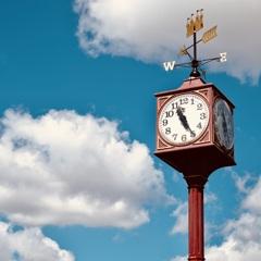 赤い時計塔