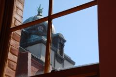 古い窓硝子