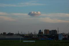 浮いてる雲