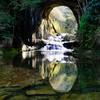 春の濃溝の滝
