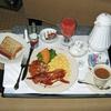 American breakfast / ルームサービス