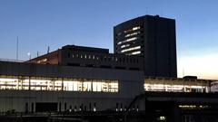 夕暮れの大宮駅