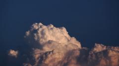夕暮れの積乱雲