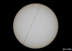 ISS(国際宇宙ステーション)2019-8-3 14時2分54秒