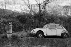 レトロ車 ビートル