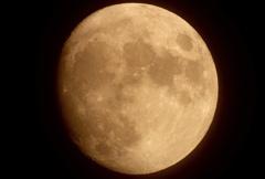 十三夜のお月様