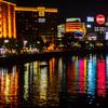 春吉橋から見たキャナルシティ