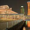 神戸港の中突堤中央ターミナル(かもめりあ)です。