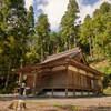 高山寺の金堂。