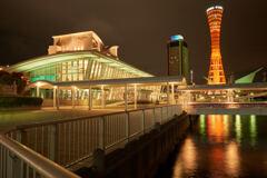 神戸港中突堤中央ターミナルです。