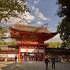下鴨神社の楼門。