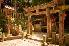 熊鷹社の入口の祠です。