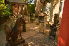 清水寺境内の小さい神社です。
