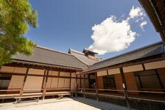 天龍寺の大方丈と書院。