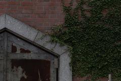 謎の扉、謎の壁