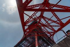 東京タワーの虹の輪(ハロ現象?) 作例6