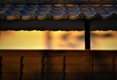 旧上杉伯爵邸 朝日を浴びて
