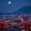 月と山と橋と