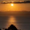 大村湾の夕陽2