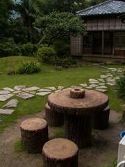 蘆花公園の庭