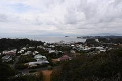 披露山公園からの眺望