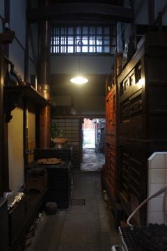 京町家の通り庭