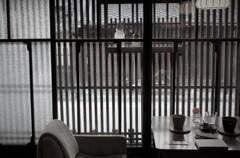 静かな町家カフェ