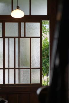 大正時代からの窓