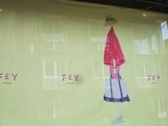 Fey  ブティックの広告~