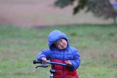 こんにちは!自転車練習中