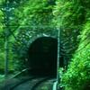 トンネルを抜けて新緑へ