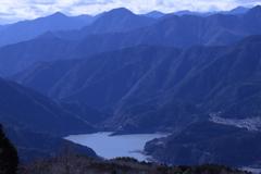 井川湖 遠景