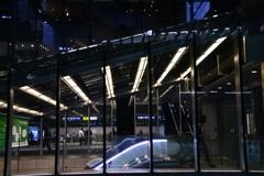 タクシー乗り場から見る横浜駅