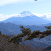 山散歩6  富士山 蛭ヶ岳(山梨)